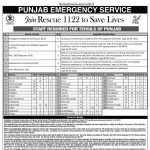 Rescue 1122 Punjab Jobs Phase V 466 PTS Result Interview Schedule