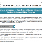 HBFC Management Trainee Officer NTS Roll No Slip House Building Finance Company