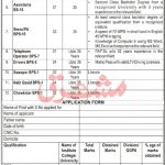 KPK Government Jobs Today At Public Sector Organization PO Box 721 Peshawar Khyber Pakhtunkhwa