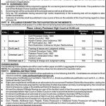 Today Govt Jobs in Peshawar KPK 2021 At Peshawar High Court August 2021