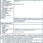 GCUF Lecturer Research Officer Faisalabad Jobs NTS Result & Answer Keys Government College University