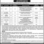 Today New Jobs Sindh Government 2021 AT Ordnance Depot Kashmore
