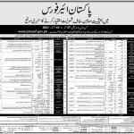 PAF Pakistan Air Force Jobs 2021 Matric Base PAF Civilian Jobs
