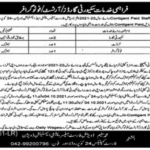 Govt Jobs in Lahore 2021 Matric Base At Forest Department Lahore