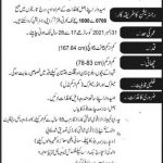 Government Of Pakistan Jobs Today 2021 September At FWO Frontier Works Organization
