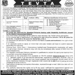 Tevta Jobs Punjab At Technical Education Vocational Training Authority
