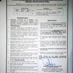 CPO Police Junior Clerk SPD 436 Jobs PTS Result Karachi Region