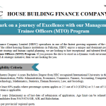 HBFC Management Trainee Officer NTS Result