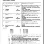 Government Jobs in Islamabad At Pakistan Science Foundation PSF